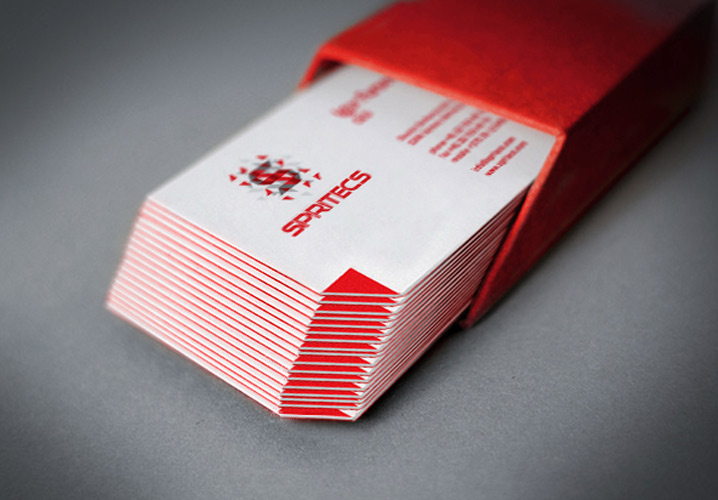 Spritecs business cards