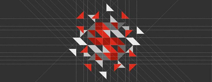 Spritecs logo: the harmony of lines and geometry
