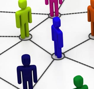 The difference between online communities and social networks