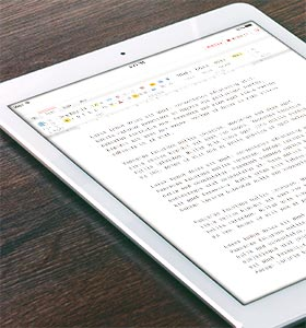 Meet our new online word processor – EditOnline!